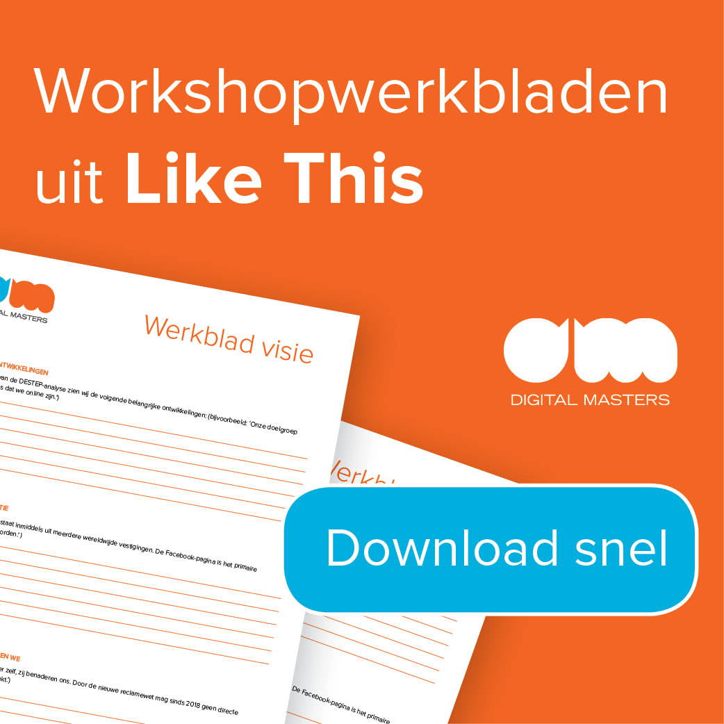 workshopwerkbladen uit Like this